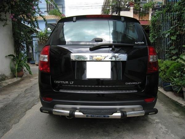 Cần bán gấp Chevrolet Captiva 2007, màu đen, xe đẹp như mới mua-2