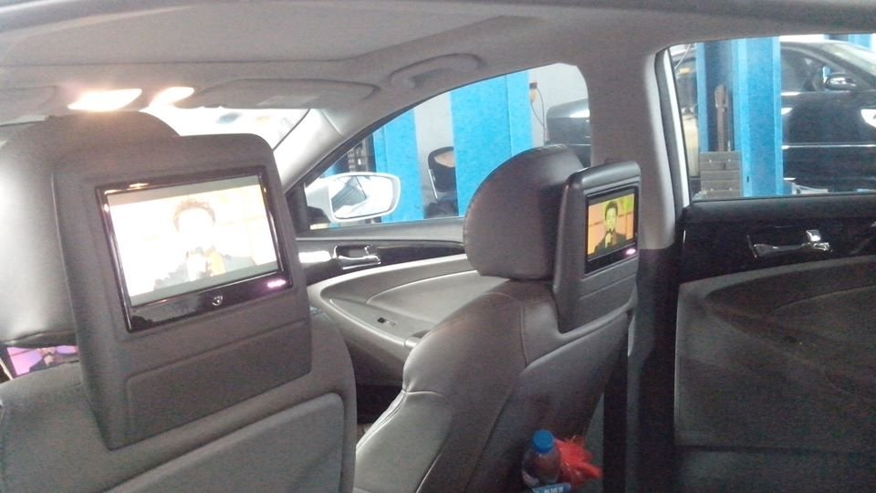 Cần bán gấp Hyundai Sonata năm 2011, màu trắng -1