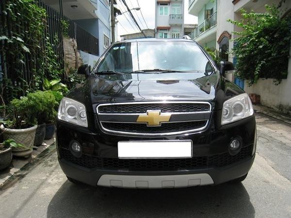 Cần bán gấp Chevrolet Captiva 2007, màu đen, xe đẹp như mới mua-0