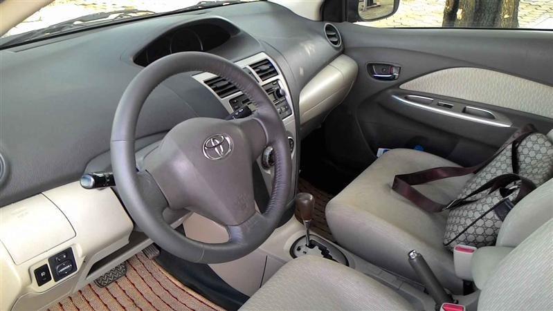 Cần bán lại xe Toyota Yaris đời 2008, màu bạc, nhập khẩu -1