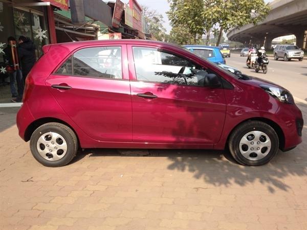 Kia Morning đời 2014, màu đỏ, nhập khẩu, xe đẹp chất lượng-3