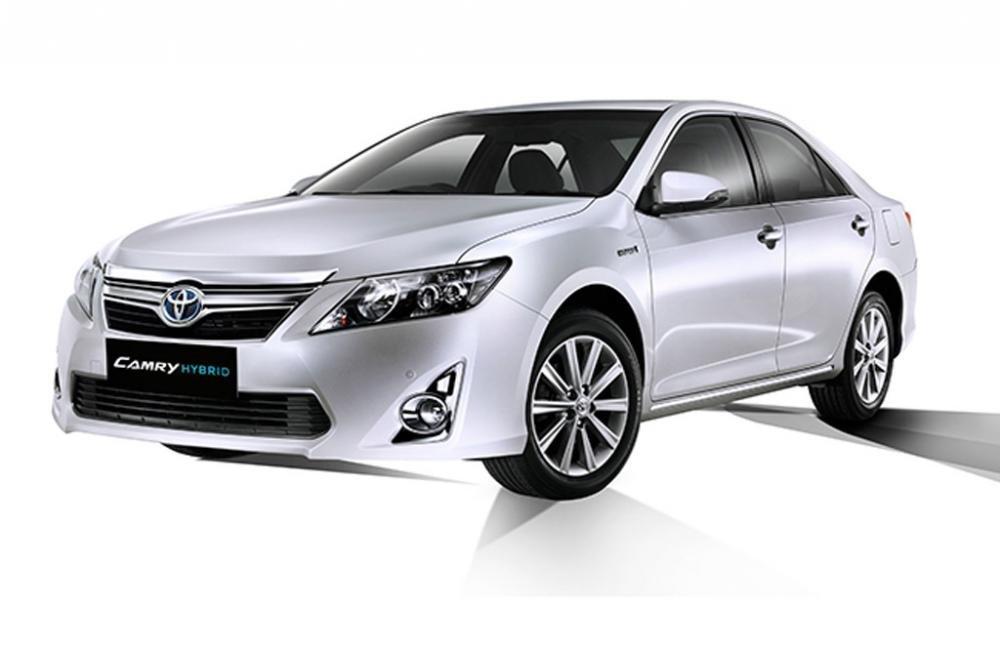Cần bán xe Toyota Camry đời 2014, màu trắng -2