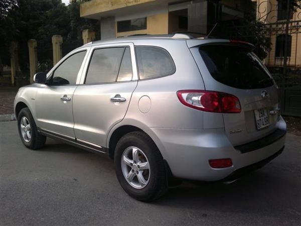 Cần bán gấp Hyundai Santa Fe đời 2008, màu bạc, nhập khẩu chính hãng chính chủ, 650 triệu-3