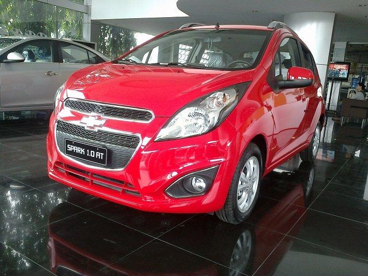 Cần bán Chevrolet Spark đời 2014, màu đỏ-9