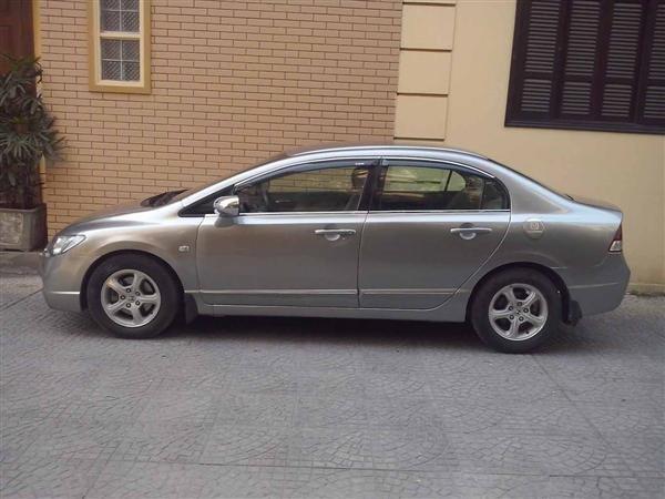 Bán ô tô Honda Civic đời 2007, màu xám chính chủ-2