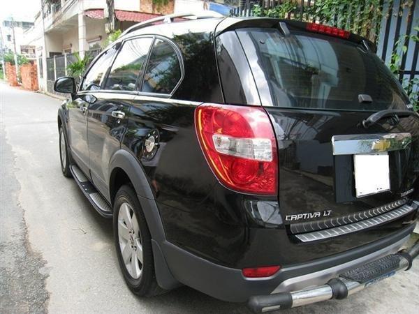 Cần bán gấp Chevrolet Captiva 2007, màu đen, xe đẹp như mới mua-1
