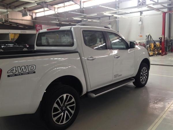 Nissan Navara VL đời 2015, màu trắng, xe nhập-1
