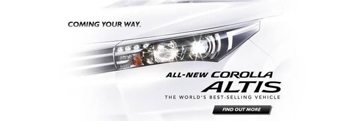 Cần bán Toyota Corolla altis 2014, nhập khẩu chính hãng -1