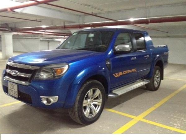 Xe Ford Ranger đời 2010, màu xanh lục, nhập khẩu chính hãng-8