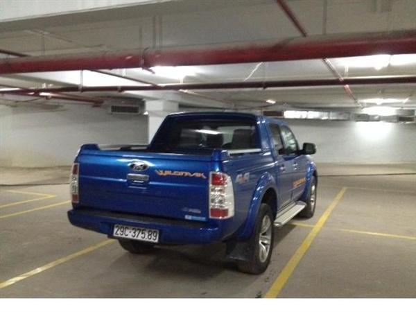 Xe Ford Ranger đời 2010, màu xanh lục, nhập khẩu chính hãng-4