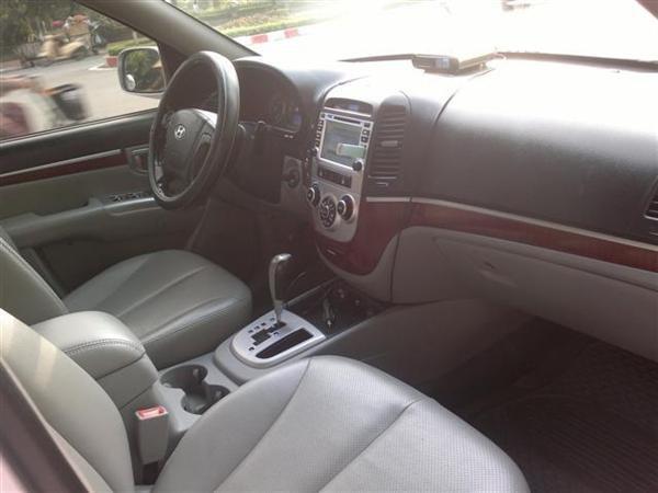 Cần bán gấp Hyundai Santa Fe đời 2008, màu bạc, nhập khẩu chính hãng chính chủ, 650 triệu-5