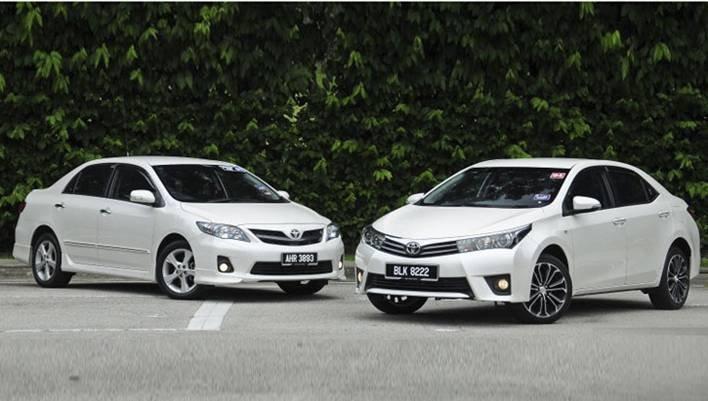 Cần bán Toyota Corolla altis 2014, nhập khẩu chính hãng -3
