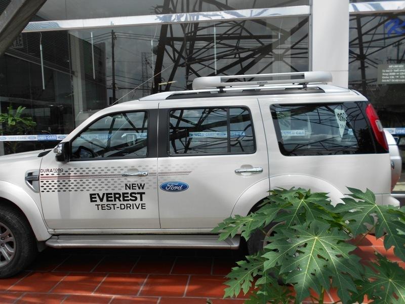 Cần bán xe Ford Everest đời 2013, màu trắng ít sử dụng -2
