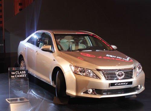 Cần bán xe Toyota Camry đời 2014, màu trắng -1