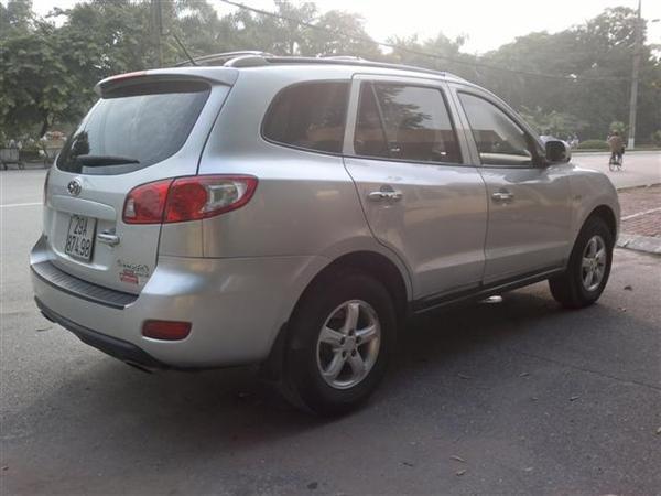 Cần bán gấp Hyundai Santa Fe đời 2008, màu bạc, nhập khẩu chính hãng chính chủ, 650 triệu-2