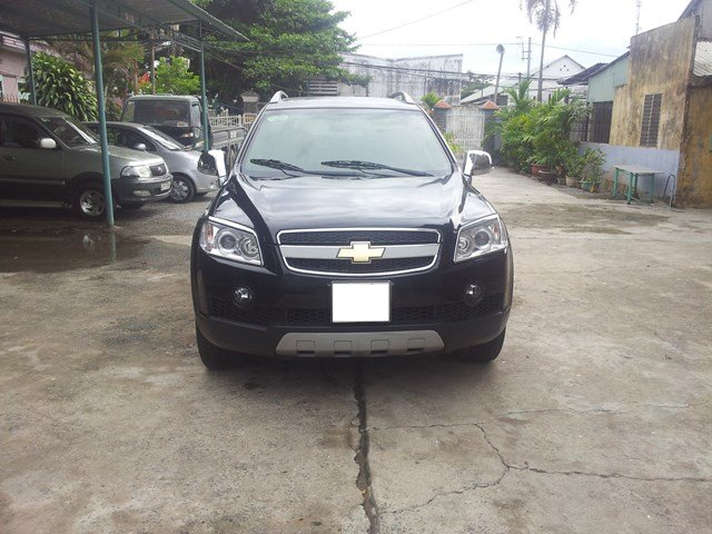 Cần bán xe Chevrolet Captiva năm 2007, màu đen-0