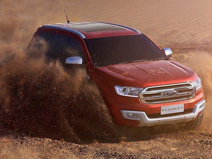 Ford Everest 2015.