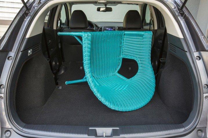 Đánh giá khoang hành lý xe Honda HR-V 2016