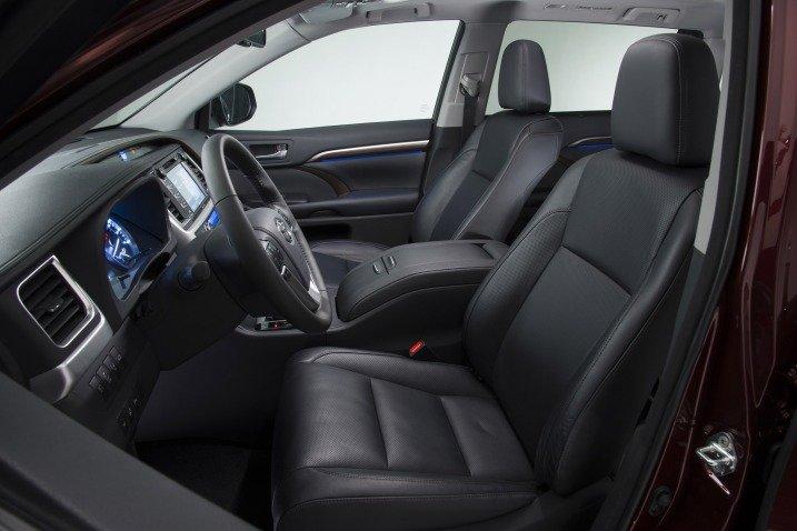 Ghế ngồi của Toyota Highlander 2015
