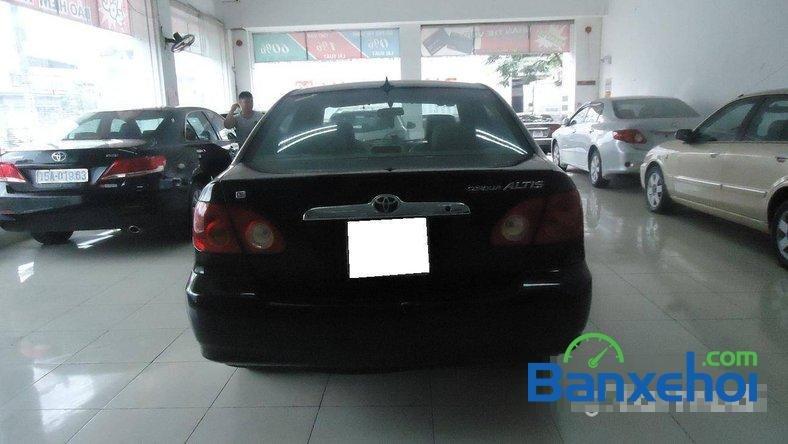 Xe Toyota Corolla J 2003 cũ màu đen đang được bán với giá 285000000 vnd-3