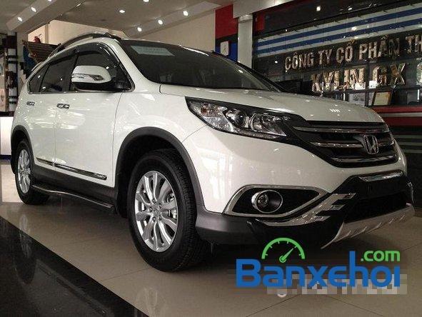 Cần bán Honda CR V đời 2014, màu trắng, giá 1 tỷ 150tr-2