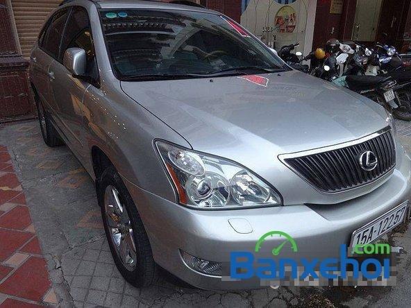 Xe Lexus RX 350 2006 cũ màu bạc đang được bán với giá 1280000000vnd-2