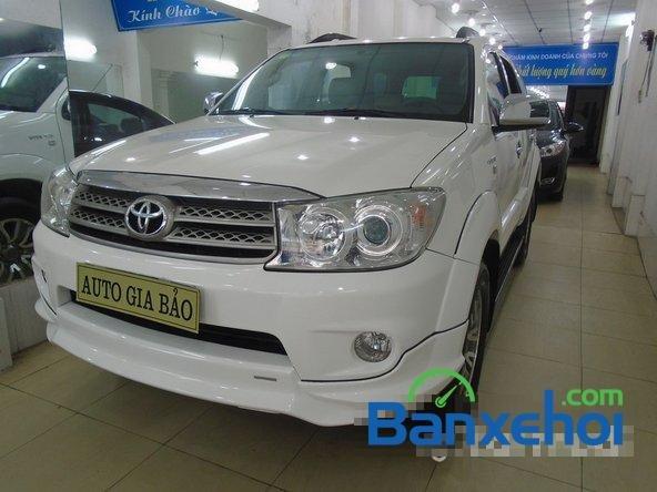 Mình cần bán lại xe Toyota Fortuner Sport đời 2012, màu trắng đã đi 30000 km-1