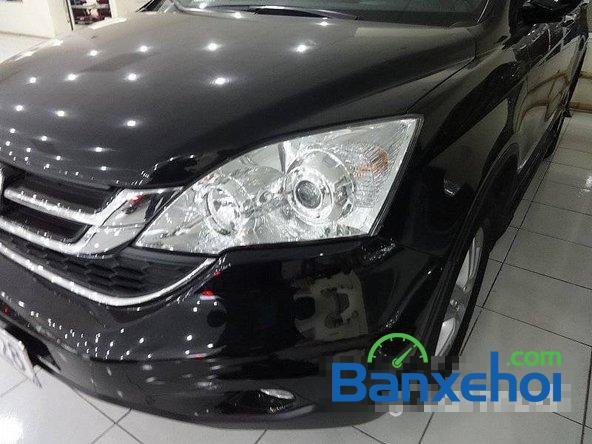 Bán ô tô Honda CR V sản xuất 2010, màu đen, 900 triệu-2