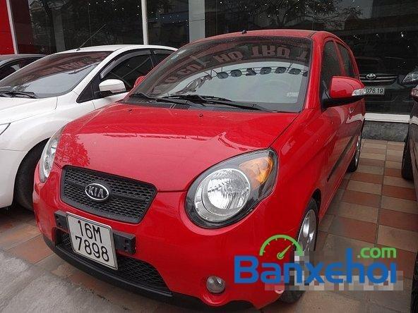 Salon Auto Quốc Toản bán ô tô Kia Morning đời 2010, màu đỏ -0
