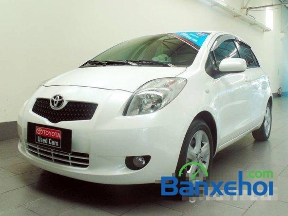 Xe Toyota Yaris 1.3 2008 cũ màu trắng đang được bán với giá 505000000 vnd-0