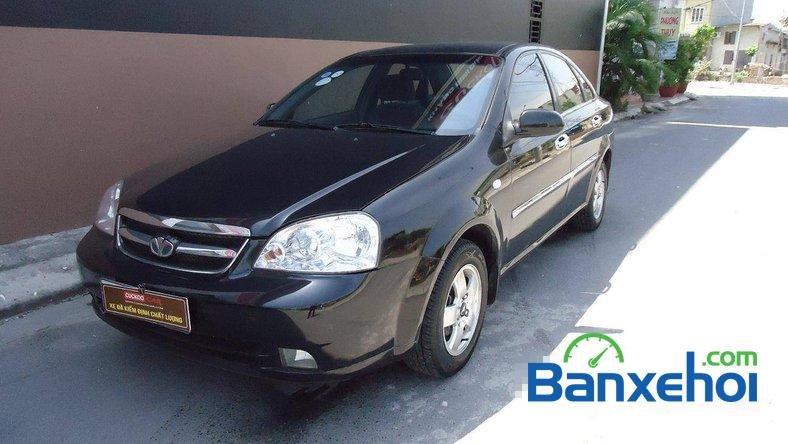 Cuckoo Car bán Daewoo Lacetti EX đời 2009, màu đen, giá 330tr-0