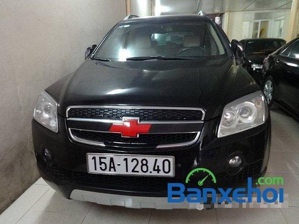 Xe Chevrolet Captiv2008 cũ màu đen đang được bán với giá 400000000 vnd-0