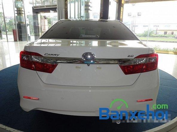 Mình cần bán xe Toyota Camry 2.0L 2014, màu trắng-4