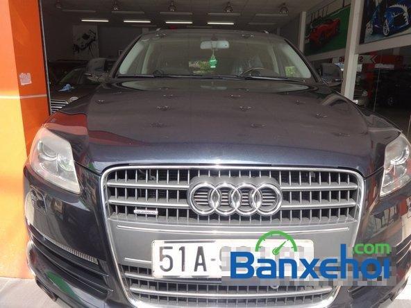 Salon Siu Hùng - CN Lê Trọng Tấn cần bán lại xe Audi Q7 đời 2006, màu đen đã đi 58000 km-1
