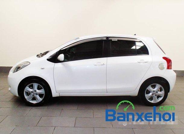 Xe Toyota Yaris 1.3 2008 cũ màu trắng đang được bán với giá 505000000 vnd-1