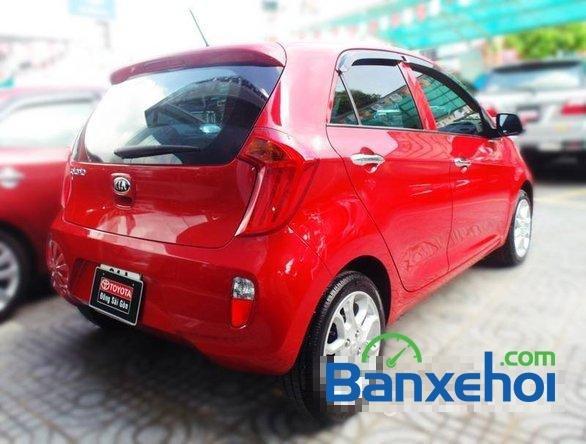 Xe Kia Picanto2013 cũ màu đỏ đang được bán với giá 385000000 vnd-1