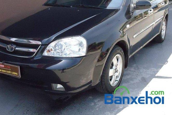 Cuckoo Car bán Daewoo Lacetti EX đời 2009, màu đen, giá 330tr-2