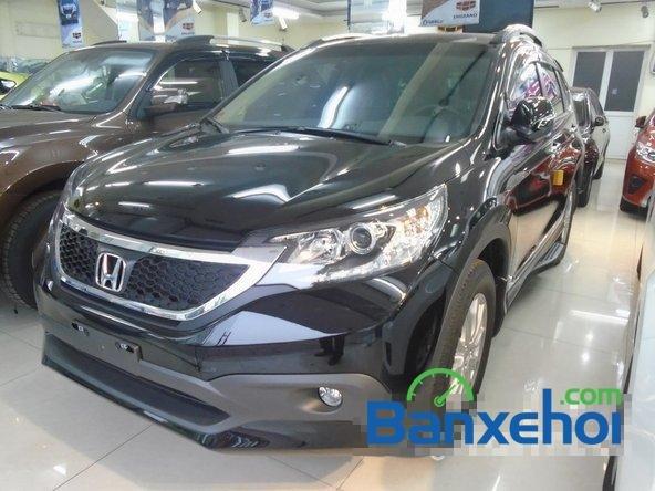 Cần bán xe Honda CR V đời 2014, màu đen, nhập khẩu-0
