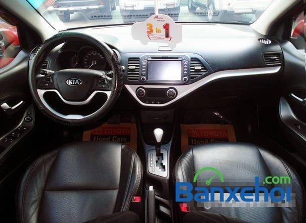 Xe Kia Picanto2013 cũ màu đỏ đang được bán với giá 385000000 vnd-3