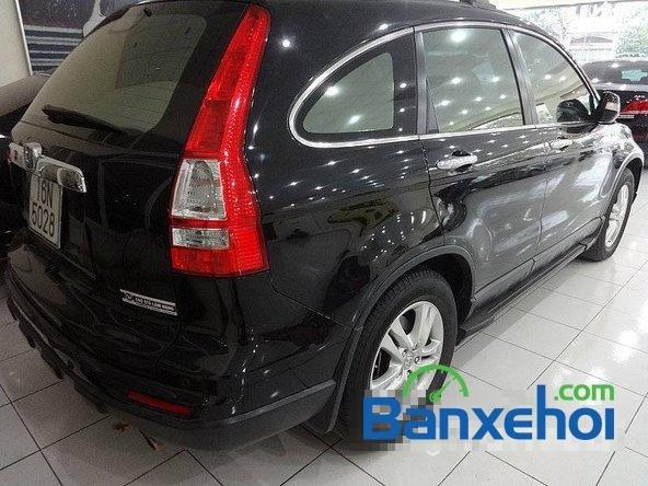 Bán ô tô Honda CR V sản xuất 2010, màu đen, 900 triệu-3