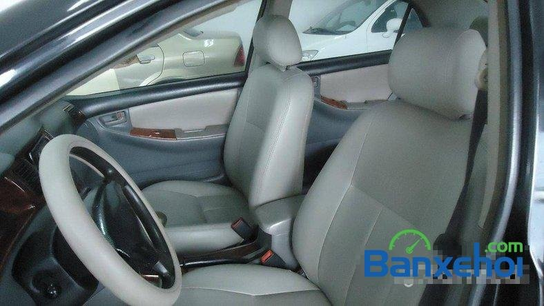 Xe Toyota Corolla J 2003 cũ màu đen đang được bán với giá 285000000 vnd-4