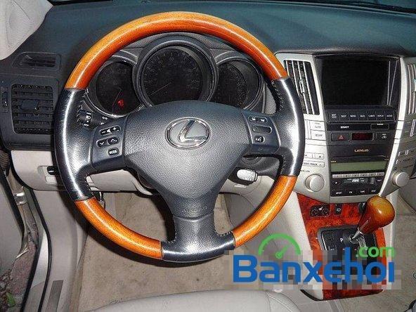 Xe Lexus RX 350 2006 cũ màu bạc đang được bán với giá 1280000000vnd-7