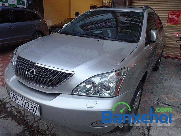 Xe Lexus RX 350 2006 cũ màu bạc đang được bán với giá 1280000000vnd-1