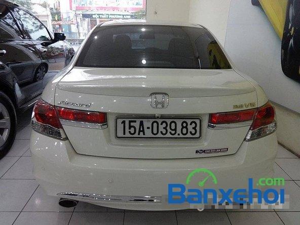 Cần bán xe Honda Accord đời 2011, màu trắng, LH chợ ô tô Lâm Hùng-3