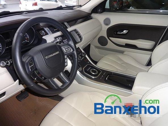 Bán ô tô LandRover Range Rover Evoque sản xuất 2012, màu trắng nhanh tay liên hệ-5