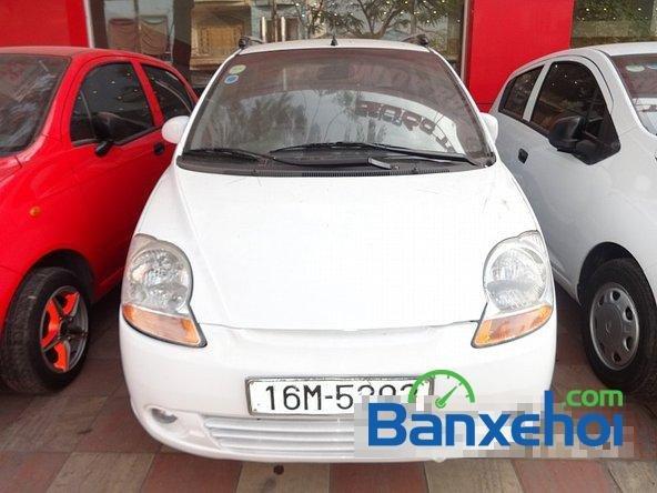 Salon Auto Quốc Toản cần bán Daewoo Matiz Van đời 2005, màu trắng, xe đẹp-0