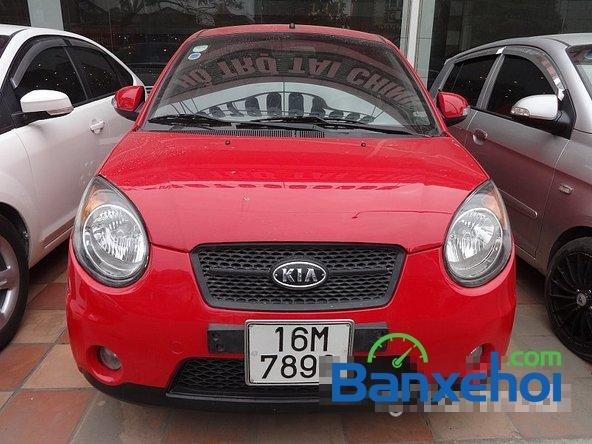 Salon Auto Quốc Toản bán ô tô Kia Morning đời 2010, màu đỏ -1