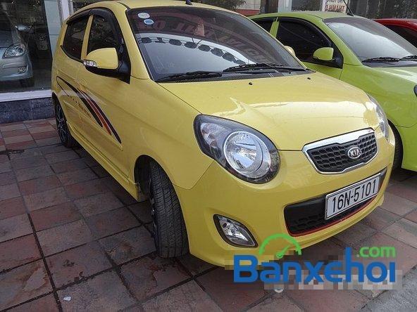 Salon Auto Quốc Toản bán Kia Morning đời 2010, màu vàng-0
