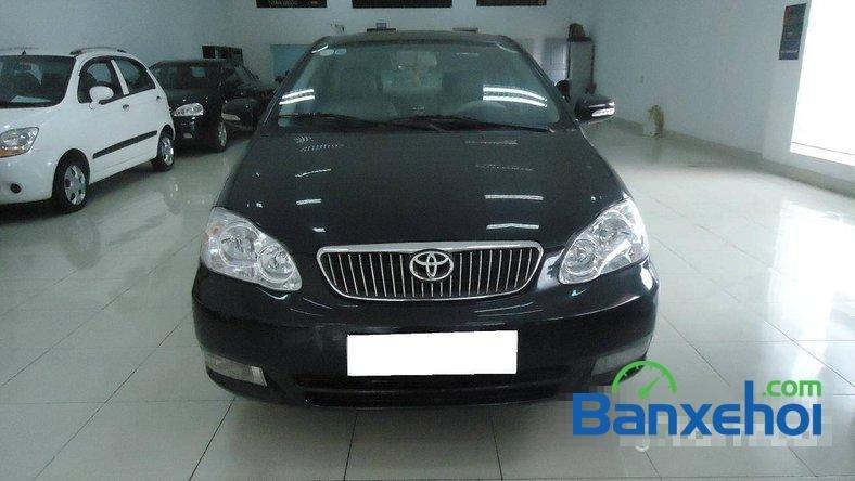 Xe Toyota Corolla J 2003 cũ màu đen đang được bán với giá 285000000 vnd-0