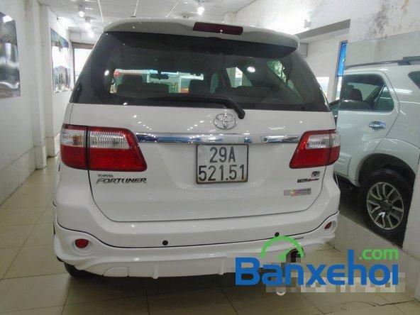 Mình cần bán lại xe Toyota Fortuner Sport đời 2012, màu trắng đã đi 30000 km-4